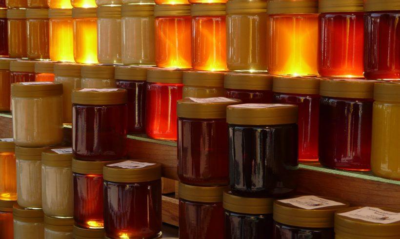 Zufrieden mit Honigernte