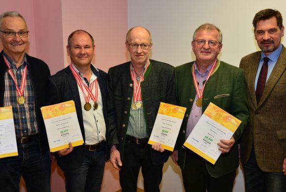 Tolles Ergebnis bei Honigprämierung anlässlich der Ab Hofmesse!!!