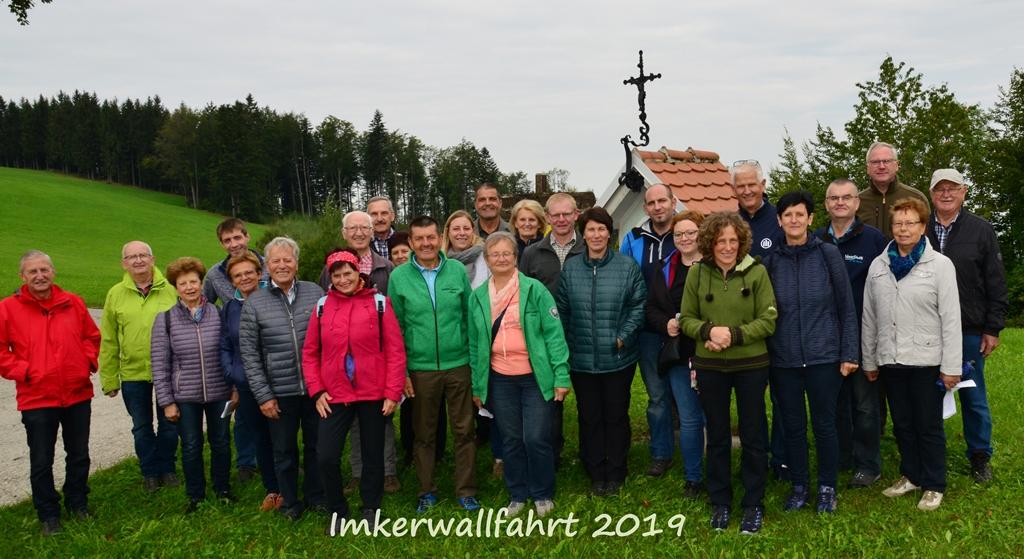 Imkerwallfahrt am 8. Sept. 2019 auf den Sonntagberg