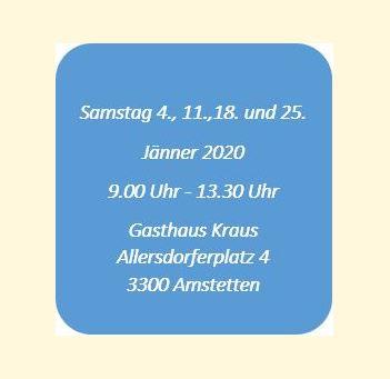 Neueinsteigerkurs  Jänner 2020  Imkerverein Amstetten
