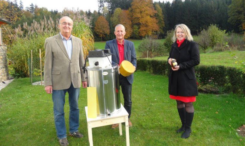 Dampfwachs-Schmelzgerät für den Imkerverein Winklarn